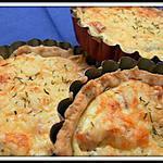 recette Petites quiches saumon fumé-ricotta