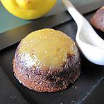 recette BOUCHEES CHOCOLAT CITRON