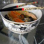 recette Soupe aux vermicelles chinoises