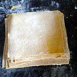 recette Pate à raviolis chinois(WON TON)