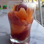 recette Verrine jambon cru et melon