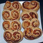 recette petits palmiers au jambon d'ardenne et gruyère (apéro)