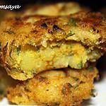 recette Maakoudas au thon, galettes de pommes de terre au thon