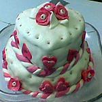 recette Gâteau d'anniversaire fraise chocolat