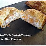 recette Feuilletés Surimi Crevettes