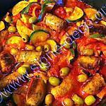 recette Ragoût de saucisse à la provençale