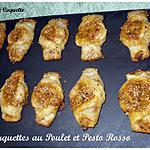 recette Barquettes de Poulet au Pesto Rosso