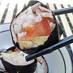 recette Sushi au jambon tomates et mozarella