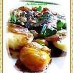 recette Magret de canard au vinaigre de mirabelle et ses mirabelles confites