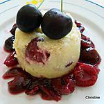 recette Petits gâteaux de semoule aux cerises