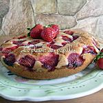 recette Gâteau (cake) aux fraises de Martha Stewart