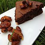 recette Brownie Coulant aux Amandes Caramélisées...