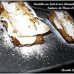 recette Bastella ou Pastilla au lait, aux amandes et fleur d'oranger