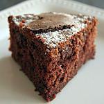 recette Gâteau façon muffin au chocolat