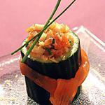 recette Bouchée fraîcheur au céléri & saumon