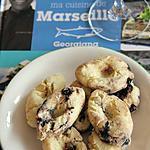 recette Navettes aux anchois & aux olives