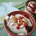 recette Glace italienne à la framboise