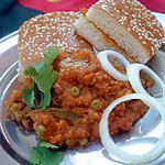 recette Recette indienne Pav bhaji