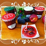 recette Confiture de prunes et nectarines jaunes aux épices