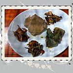 recette Roti de veau aux artichauts et  assortiment de champignons des bois