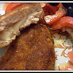 recette Escalopes de poulet panées à la mozzarella
