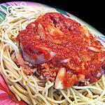 recette Spaguettis Tuna Bolognaise !