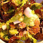 recette Une Envie de Salade Lardons Oeufs Dur
