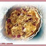 recette Tartes aux piquillos (poivrons rouges) et cabécou