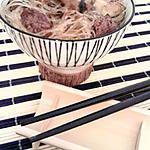 recette Vermicelles chinois aux boeuf