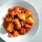recette Ragout carottes et saucisses
