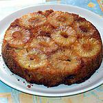 recette Gateau caramélisé à l'ananas