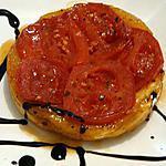 recette mini tarte tatin à la tomate