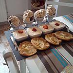 recette Chantilly banana...split, fraises façon tiramisu, tartes fines aux pommes caramélisées.