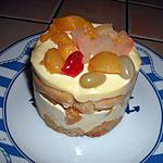 recette Gâteau italien à la salade de fruits