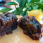 recette Mignardises chocolat-orange
