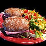 recette Sandwiches aux saveurs Mediterranéennes !