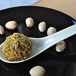 recette Bouchées Apéritif Raisins Chèvre Pistaches