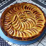 recette tarte aux pommes et cannelle