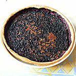 recette Tarte aux baies de sureau