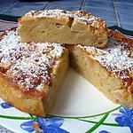 recette gateau aux pommes et cannelle super facile