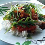 recette Casserole de chorizo au poivron et aux pois chiches