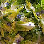 Salade fleurie.