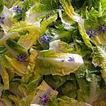 recette Salade fleurie.
