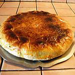 recette Tourte pommes de terre et viande