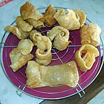 recette Oreilles de cadhi (oreilles de juge) : merveilleuse pâtisserie tunisienne