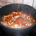 recette Poulet à la tomate et aux pois chiches