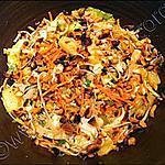 recette Salade aux saveurs d'Asie