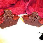 recette Muffins au cacao et cerise confite