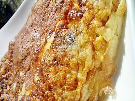 Recette d'Omelette au steack haché