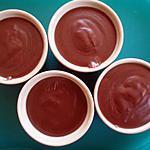 recette Petit pot de crème au chocolat